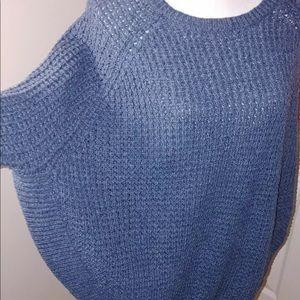 Ralph Lauren Batwing Poncho Sweater